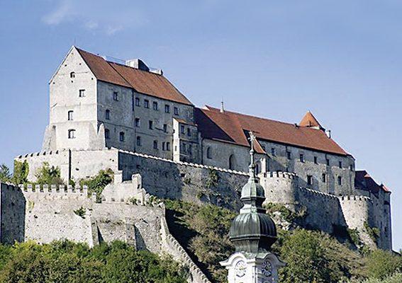 Gartenlust Burg Burghausen
