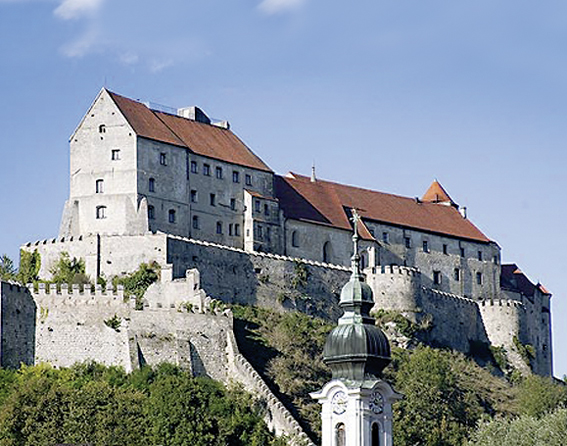 Gartenlust<br> Burg<br> Burghausen