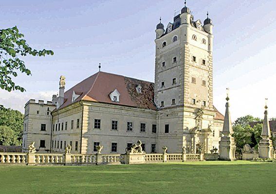 Gartenlust Schloss Greillenstein