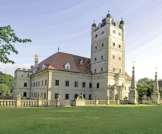 Gartenlust<br> Schloss<br> Greillenstein<br> (Bez. Horn)