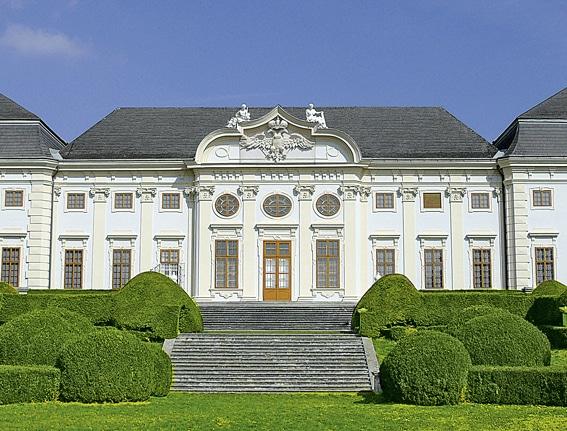 Gartenlust<br> Schloss<br> Halbturn (A)