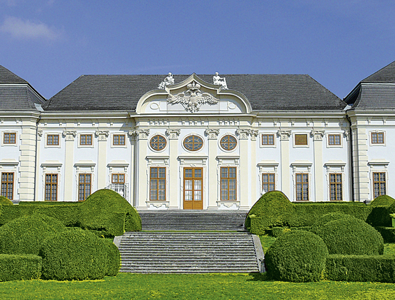 Gartenlust<br> Schloss<br> Halbturn