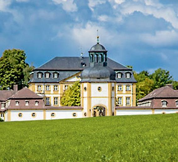 Gartenlust<br> Schloss<br> Jägersburg (D)