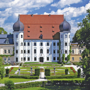 Gartenlust Schloss Maxlrain