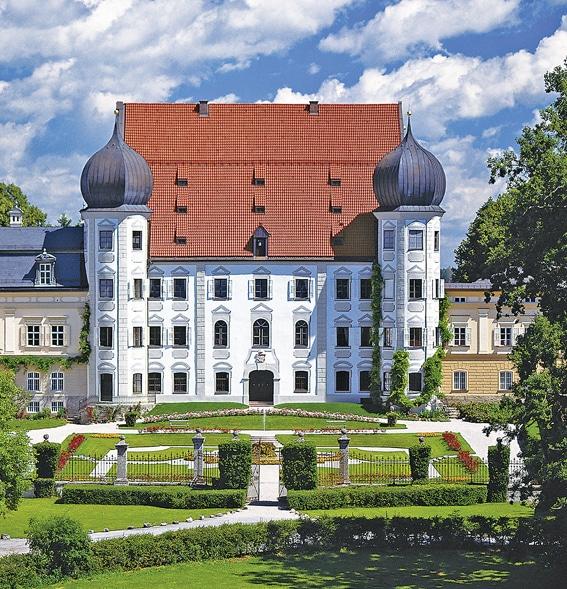Gartenlust<br> Schloss<br> Maxlrain (D)