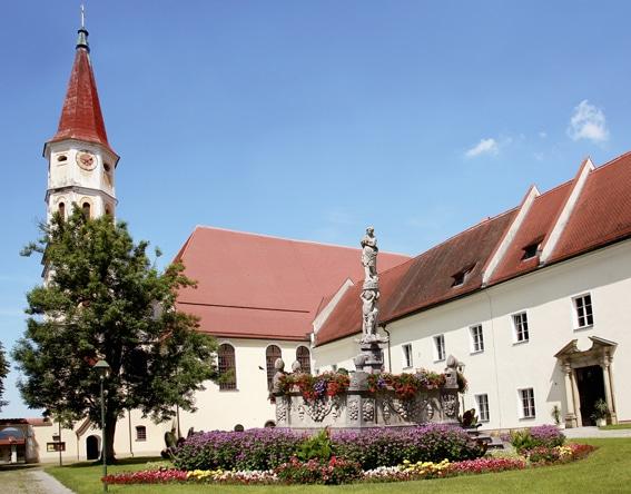 Gartenlust<br> Stift<br> Ranshofen<br> (bei Braunau a. Inn)
