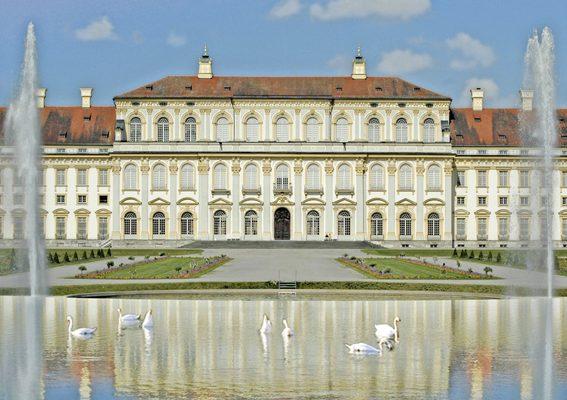Gartenlust Schloss Schleißheim