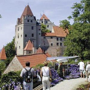 Burg Trausnitz Winterlust Gartenlust