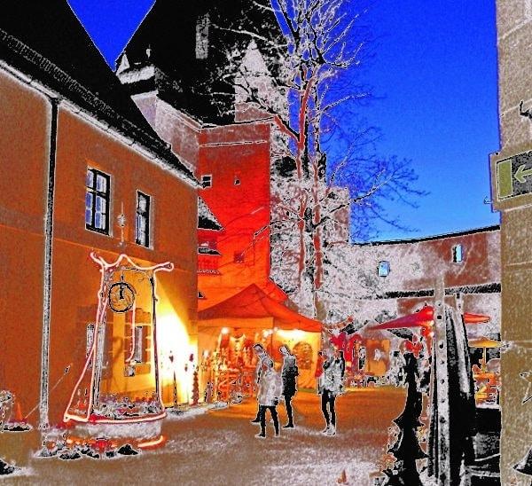 Burgweihnacht<br> Burg<br> Trausnitz<br> (Stadt Landshut)