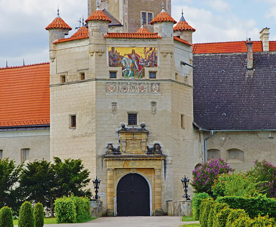 Gartenlust<br> Schloss<br> Wallsee