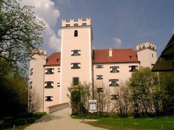 Herbstlust<br> Wasserschloss<br> Mariakirchen (D)