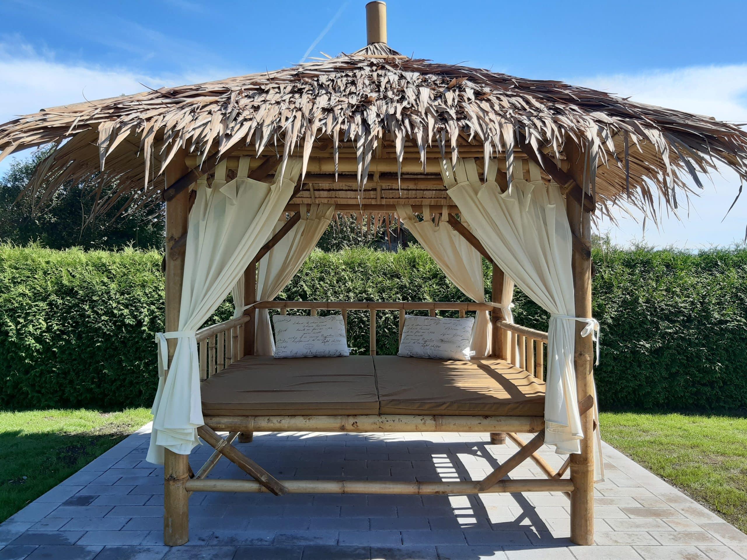 Urban Bambus Exotische Bambus Gartenmöbel aus Südostasien – Pavillons, Daybeds, Liegen, Bars und mehr